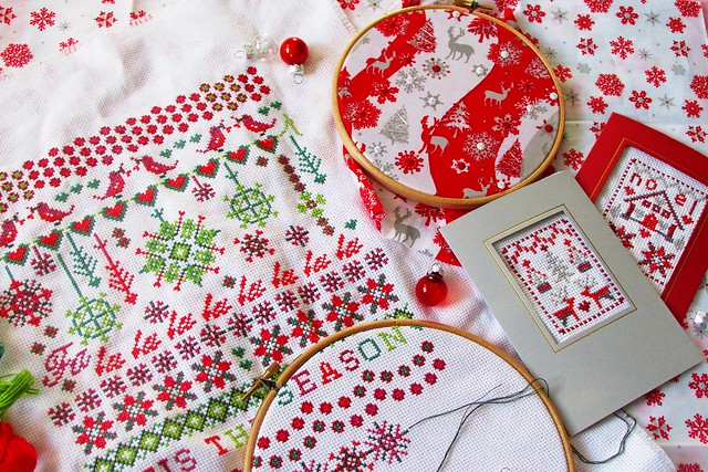 christmas cross stitch crafts___