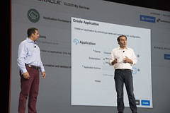 Shaun Smith and Georges Saab, Java Keynote, JavaOne 2015 San Francisco