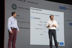 Shaun Smith and Georges Saab, Java Keynote, JavaOne 2015 San Francisco