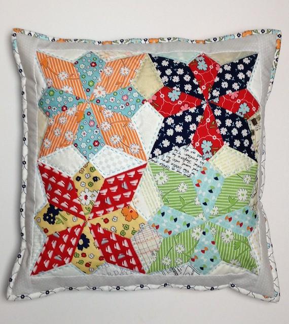 Vintage Happy Wildflower cushion