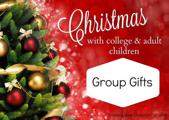 Christmas With College and Adult Kids: Group Gifts