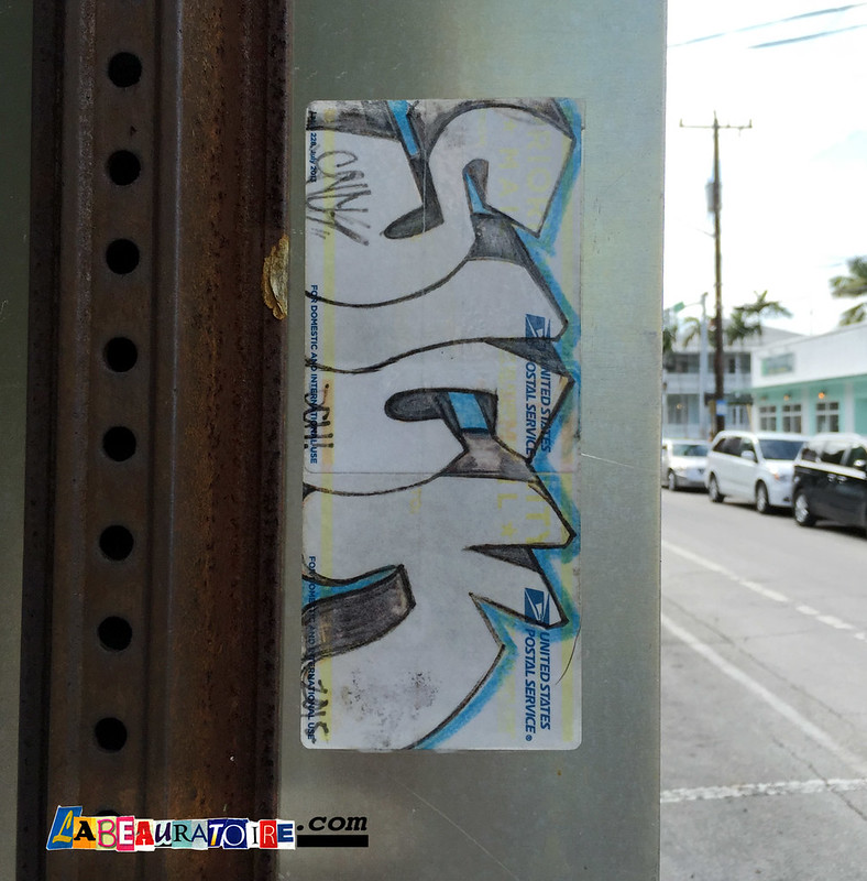 sick street sticker - Key West - 8814