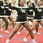 LRHS Var Cheer @ 4A State Cheer Qualifier 11-08-2016 (EAW)
