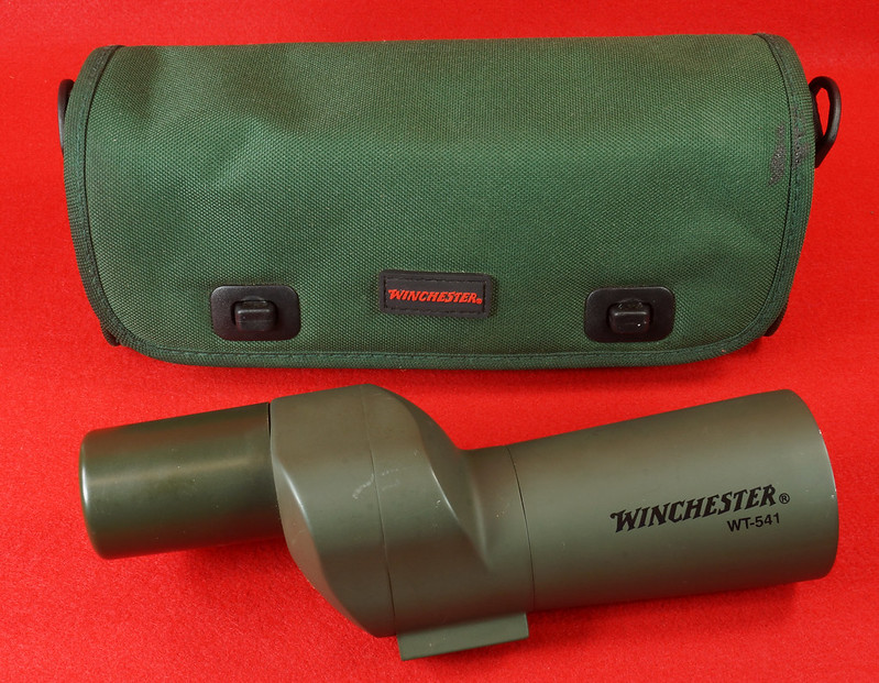 RD14520 Winchester WT-541 Spotting Scope with Bag DSC05893
