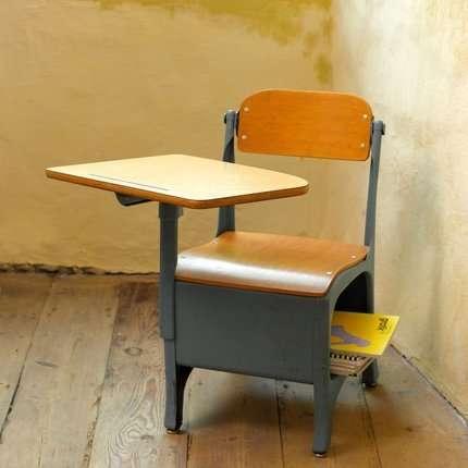 Little School Kids Little Kids Had Little Desks