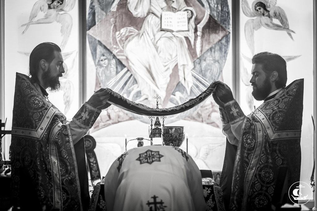 28 августа 2015, Литургия на Успение Пресвятой Богородицы / 28 August 2015, Liturgy on the Dormition of the Mother of God