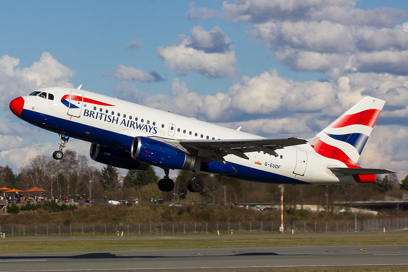 British Airways - A319 - D-EUOF (3)