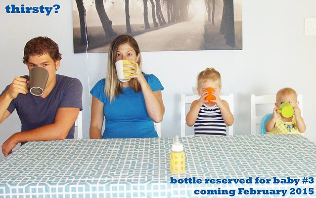 baby announcement for baby #3