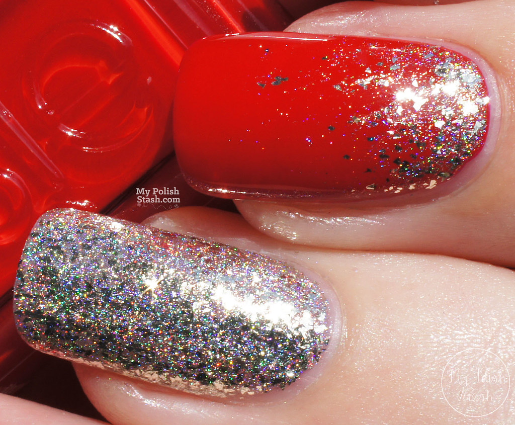 essie-really-red-FUNlacquer-pay-day-glitter-gradient-5