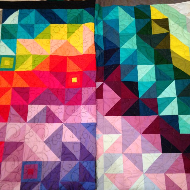 24 Years Quilt and A and B Quilt
