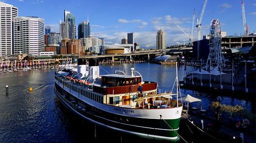 SS South Steyne. Darling Habour Sydney.