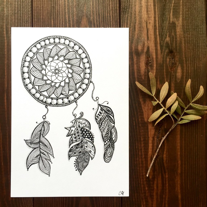 Zenart: homework dream catcher