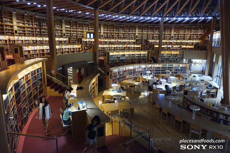nakajima library akita side view