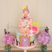 Flower Fairy Cake by Little Cottage Cupcakes