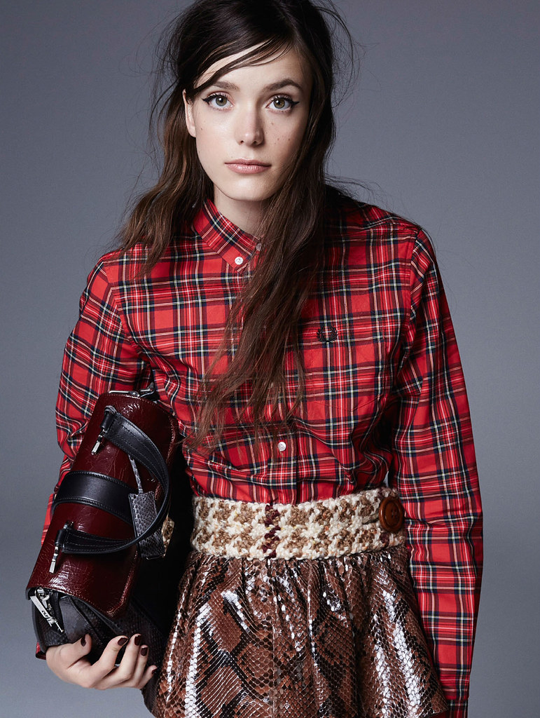 Стэйси Мартин — Фотосессия для «Elle» UK 2015 – 3