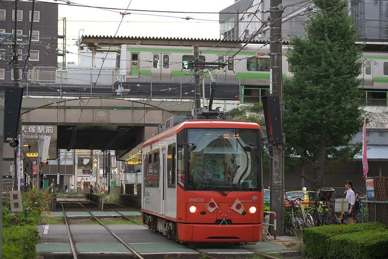 Tokyo Train Story 都電荒川線 2015年9月23日