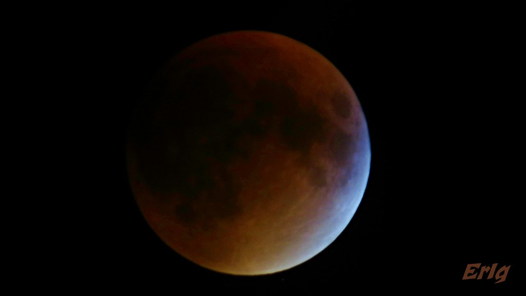Blood moon. Montreal. September 2015.
