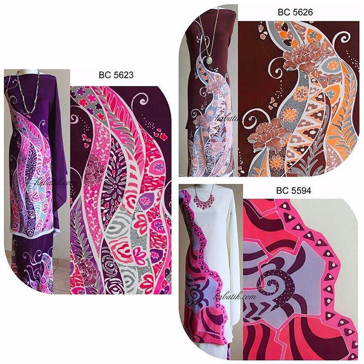 New Collection Batik Lukis Terengganu Lukis Tangan Code  BC 5623