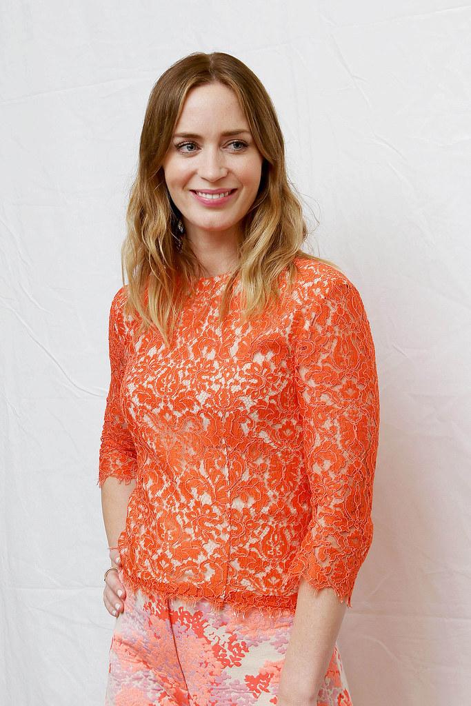 Эмили Блант — Пресс-конференция «Наёмница» на «TIFF» 2015 – 10