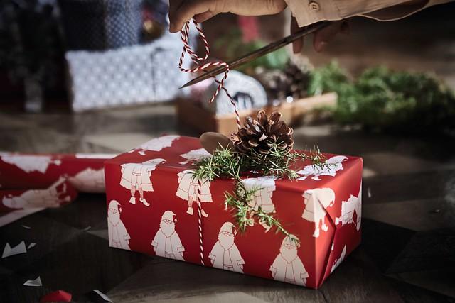 Ikea joulupaperi Kaikki Paketissa
