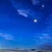 Waning Moon and Four Planets (Oct 9, 2015) by Amazing Sky Photography