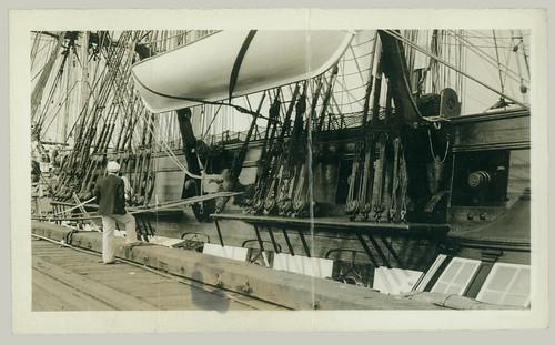 Ship at the dock