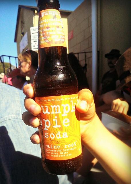 Pumpkin soda