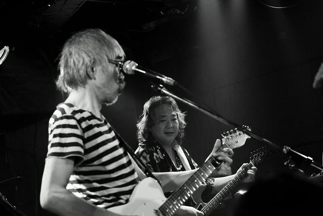 ファズの魔法使い live at Outbreak, Tokyo, 29 Sep 2015 - jam with Hideto Takenaka. 326