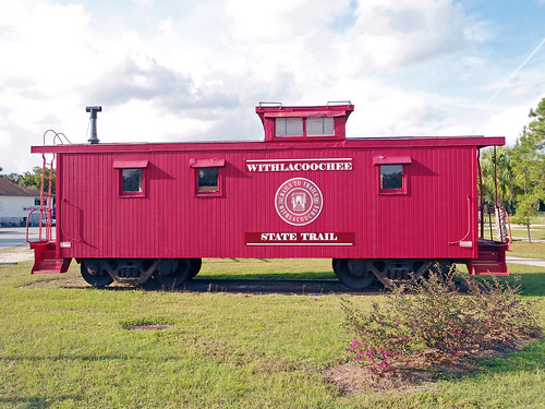 park florida caboose inverness railtotrails