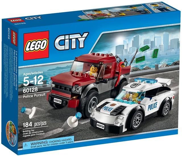 LEGO City 2016: 60128 - Police Pursuit