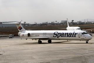 Spanair EC-GCV MD82 Valencia (3)