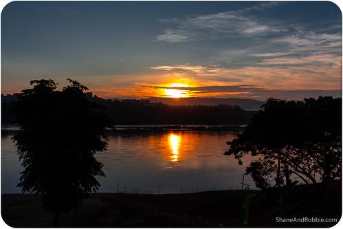 travel cruise sunrise river thailand se boat asia southeast favourite laos th chiangkhong meong changwatchiangrai tambonwiang
