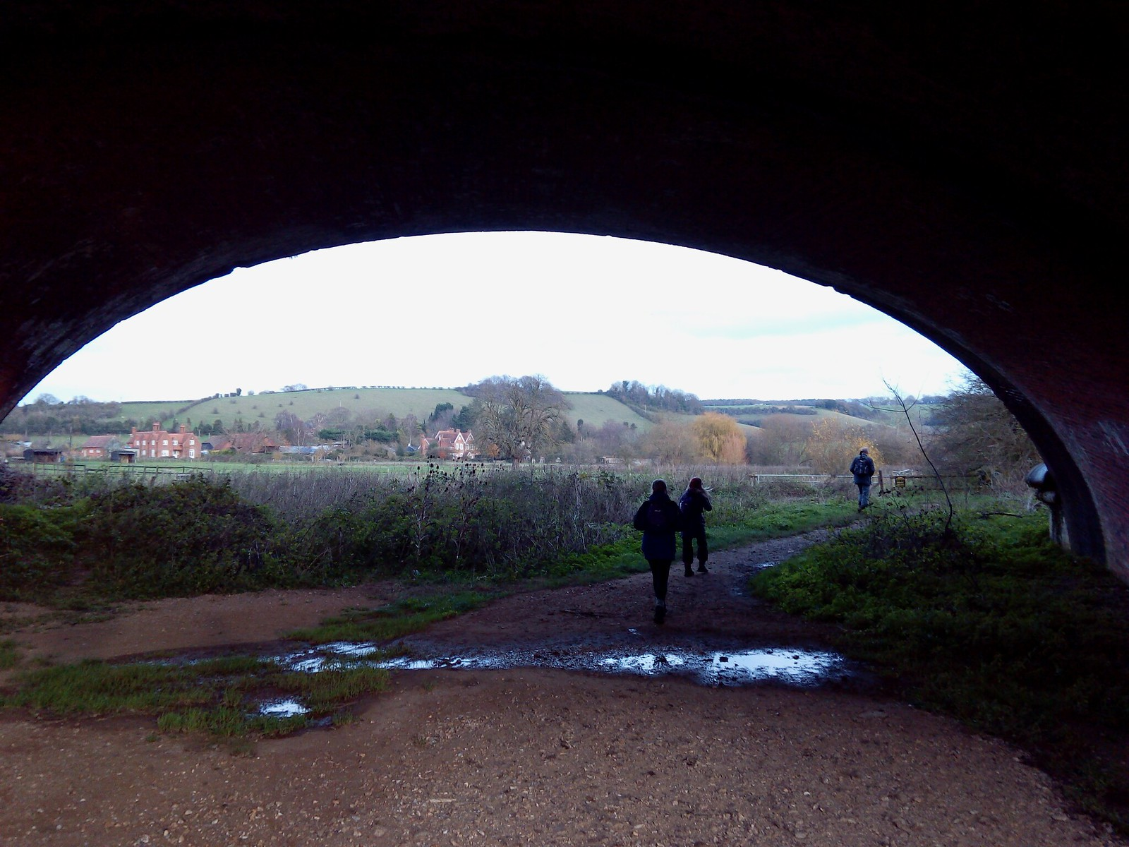 Underneath the arches Goring to Whitchurch