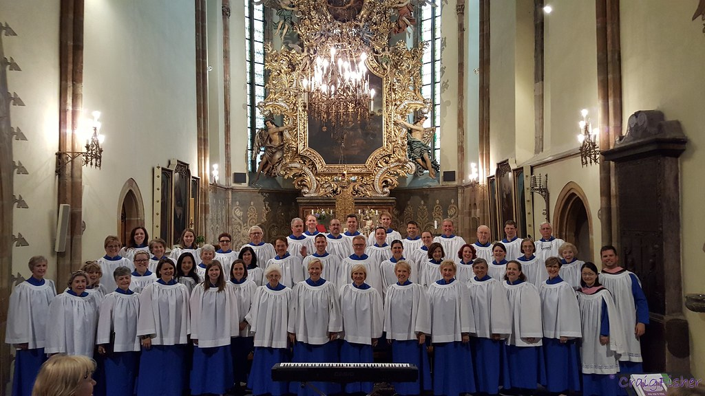 Myers Park United Methodist Church Chancel Choir in St. Giles Church in Nymburk, Czech Republic