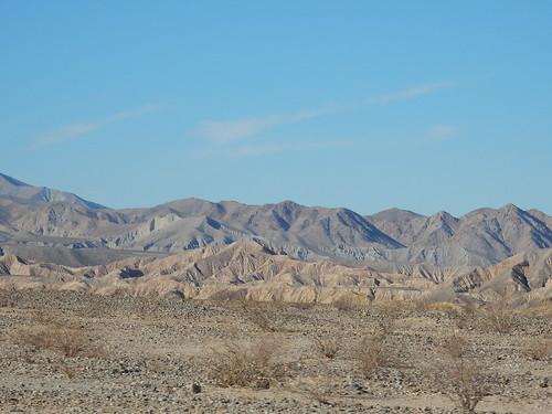 Anza-Borrego Desert SP - Badlands - 2