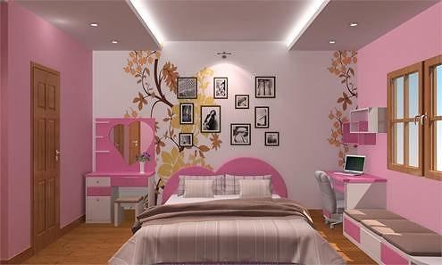 Phong thủy cho rằng màu hồng phấn là màu sắc đại hung, không nên dùng để thiết kế nhà