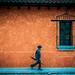 Chasing pavements, Antigua Guatemala by Simon van Ooijen