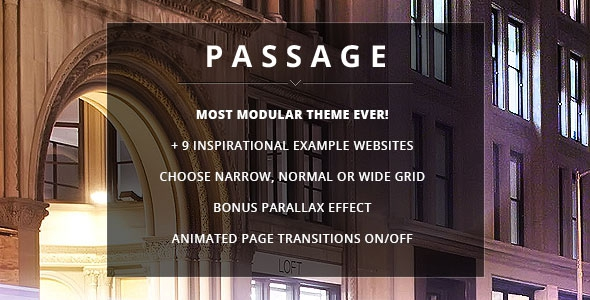 Passage v1.9.1 Responsive Retina Multi-Purpose Theme