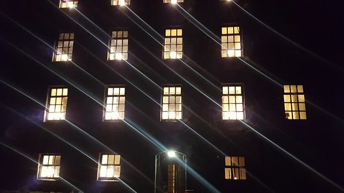Lights in the windows
