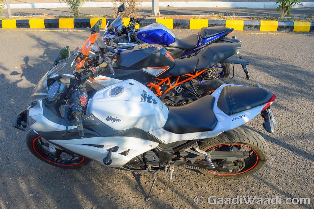 Yamaha R3 vs KTM RC390 vs Kawasaki Ninja300-10