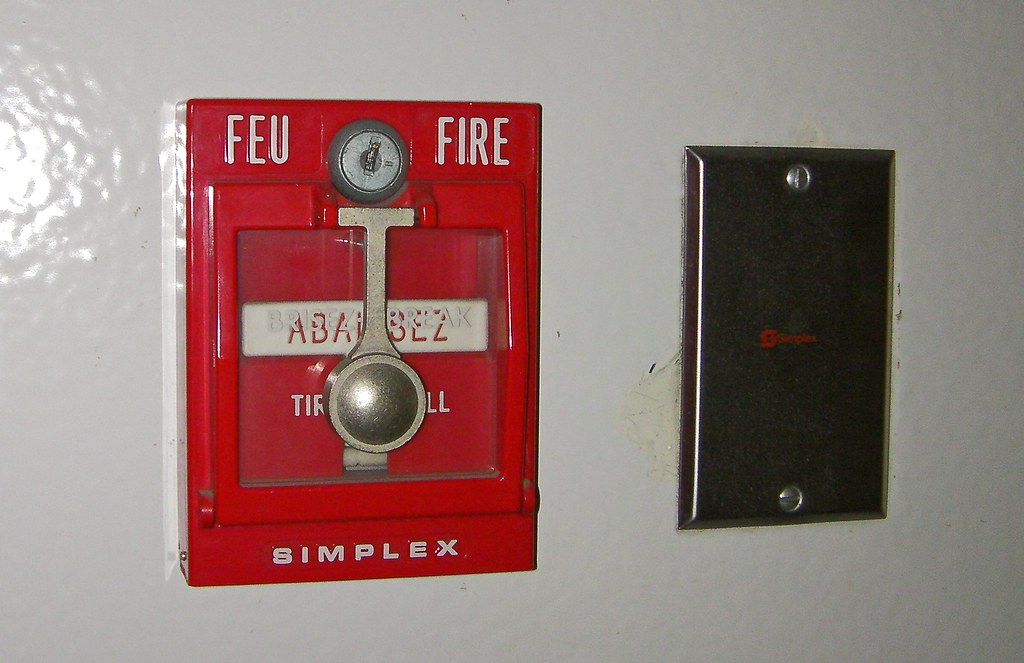 simplex fire alarm pull station a photo on flickriver