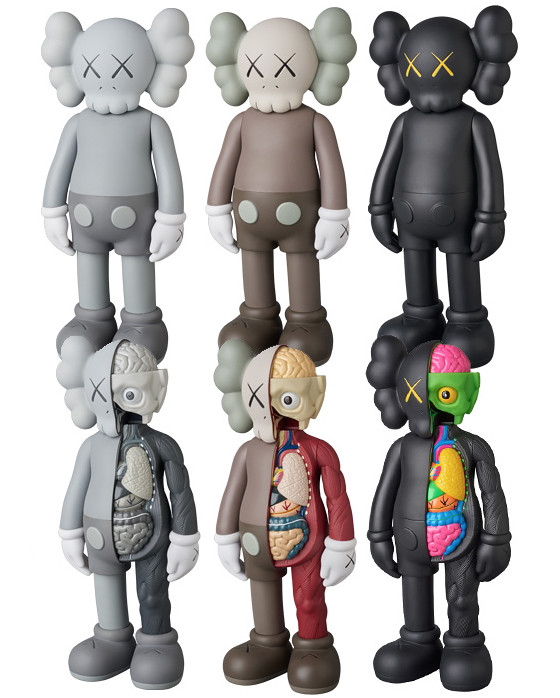KAWS COMPANION OPEN EDITION 【MEDICOM TOY PLUS店面抽選販售】!!