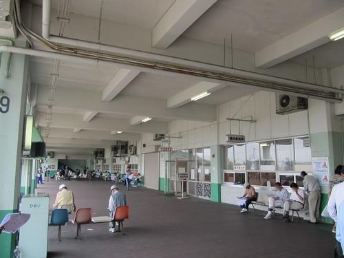 姫路競馬場かつての裏手