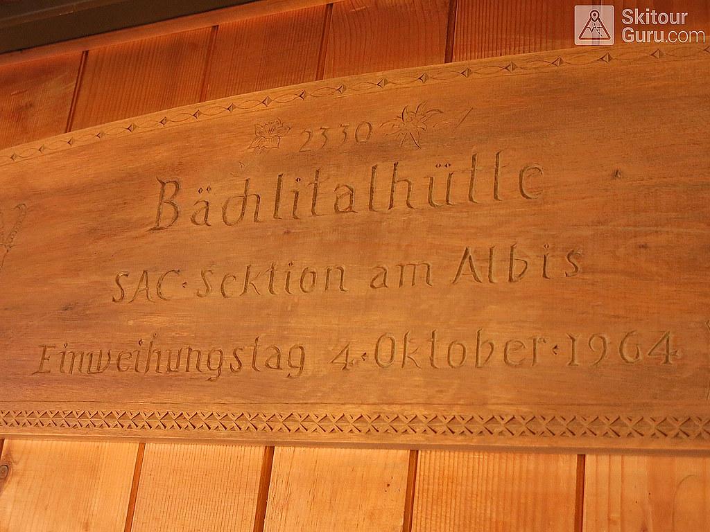 Bächlitalhütte Berner Alpen / Alpes bernoises Switzerland photo 02