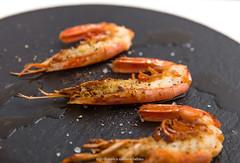 Grilled Patagonian prawns (Pleoticus muelleri).