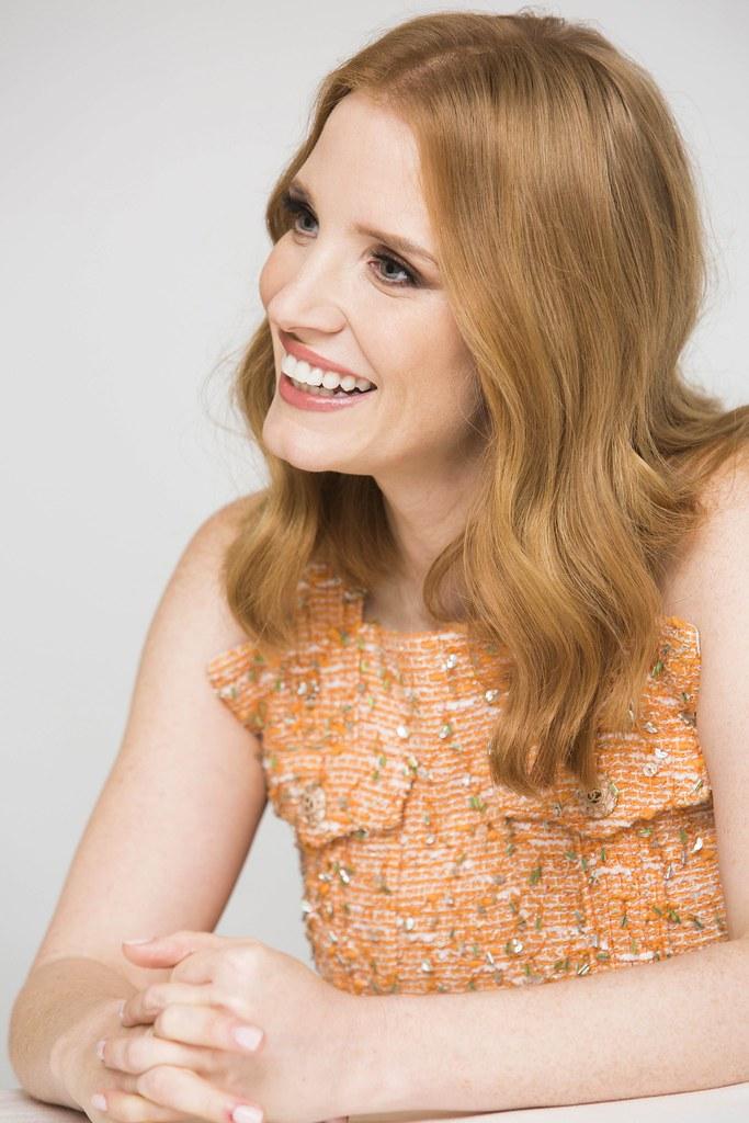 Джессика Честейн — Пресс-конференция «Мисс Слоун» 2016 – 48