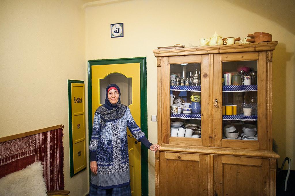 Czink Ibolya Beatrix muszlim festőnő
