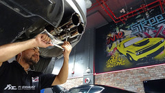 Installation of BMW F12 M6 with Fi Exhaust !