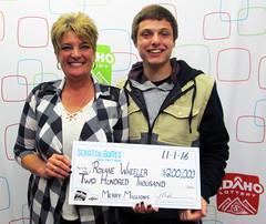 Roxane Wheeler - $200,000 Merry Millions