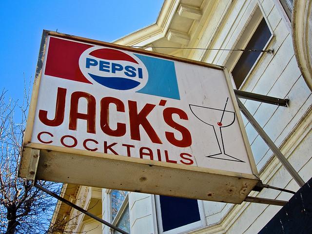 Jack's Cocktails, San Francisco, CA